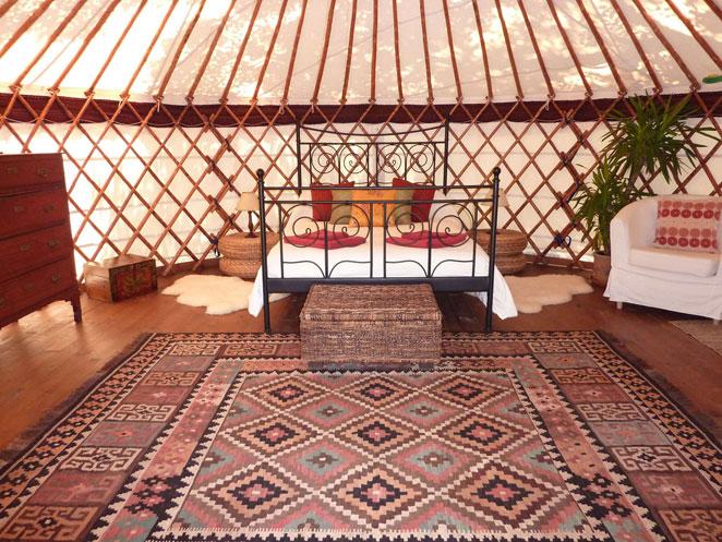 Hoopoe Yurt Hotel